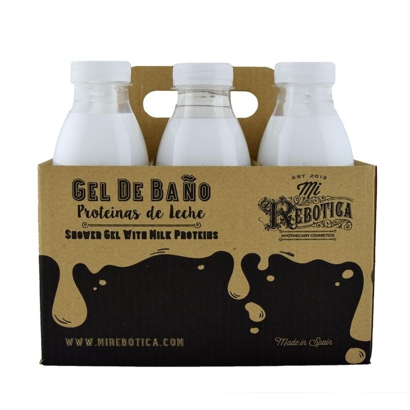Gel proteinas de leche mi rebotica - Bano de leche ...