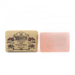 Jabon glicerina artesano Petalos de Rosa 110 gr