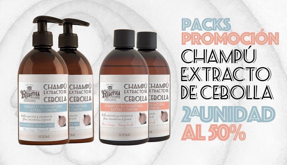 Promoción Pack Champú Cebolla