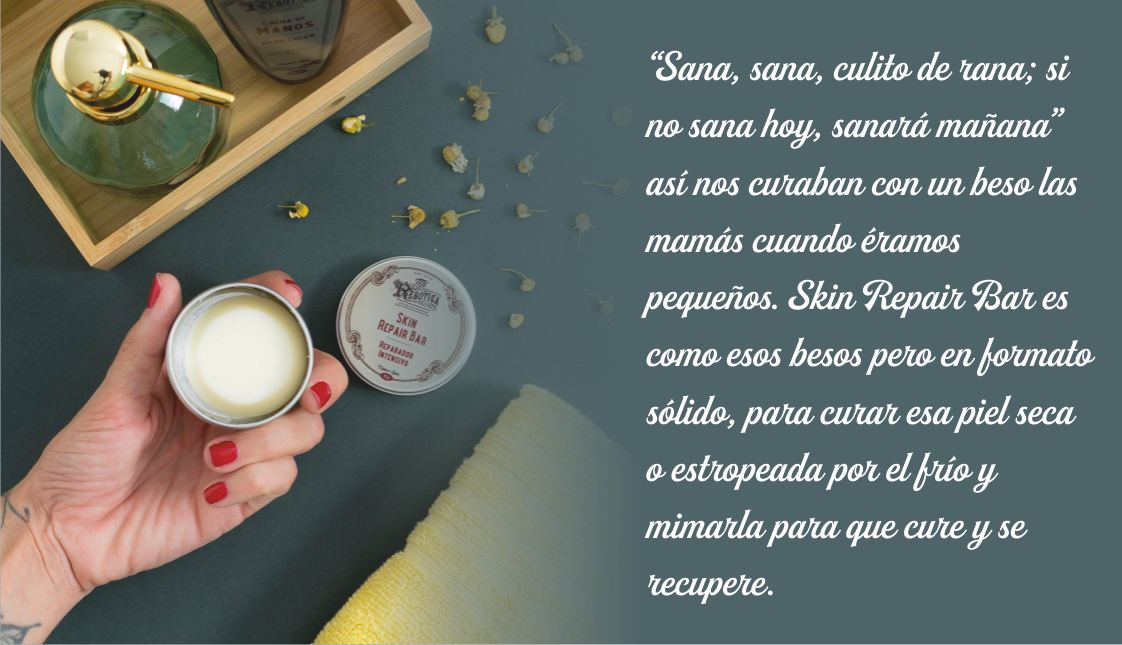 SKIN REPAIR BAR. REPARADOR INTENSIVO 15 gr