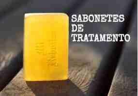 SABONETES DE TRATAMENTO